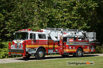 Penn Hills #1 (Lincoln Park) Tower 221: 1981 Mack/Baker 75' Aerialscope (X-FDNY, Quarryville, Columbia, PA)