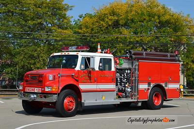 Chalfant Engine 120: 1993 International/Pierce 1250/750