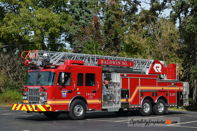 Baldwin #1 Truck 105: 2015 Spartan/Rosenbauer 2000/500 109' Viper