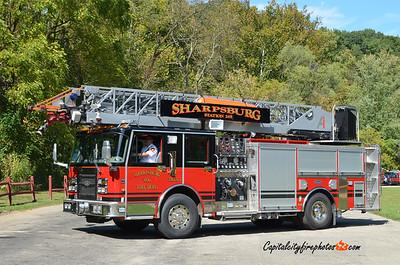 Sharpsburg Truck 265: 2001 Spartan/Luverne 1750/500 75'