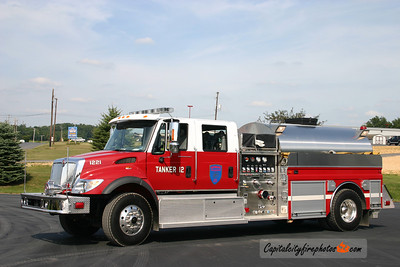 Newburg Tanker 1221: 2006 International/4 Guys 1200/1800