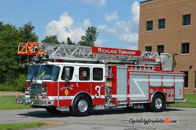 Richland Township Ladder 3: 2014 E-One 1500/500 78'