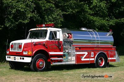 Wilmore Tanker 87-3: 1995 International/4 Guys 500/1800