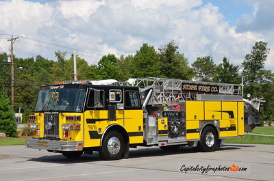 Northern Cambria (Hope Fire Co.) Tower 50: 1995 Sutphen 2000/300 75' (X-Dormont, PA)