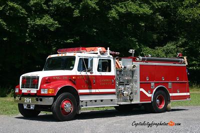 West Taylor Engine 29-1: 1992 International/KME 1250/500
