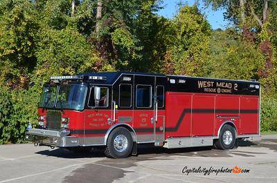 West Mead Township District 2 Fire Co. Rescue Engine 29: 2012 KME Predator 1500/970/30