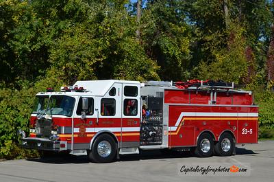 Vernon Central Hose Co (Vernon Township) Engine 23-5: 2012 E-One Cyclone II 2000/2500/30