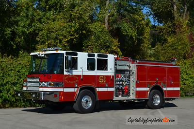 Saegertown Fire Co. Engine 19-1: 2008 Pierce Quantum 1500/1000