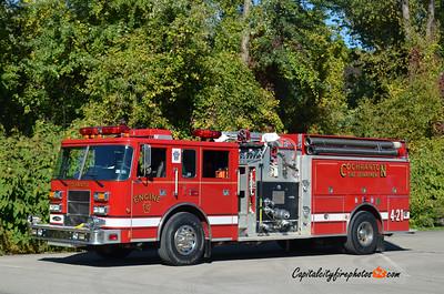 Cochranton Fire Co. Engine 4-21: 2001 Pierce 1250/1000