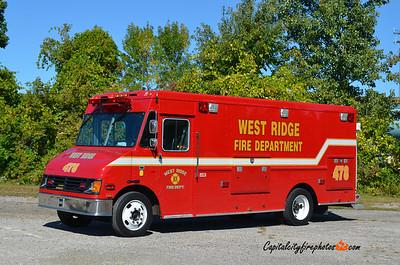 West Ridge Fire Co. (Millcreek Township) Truck 478: 2001 International/Union City