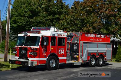 Fairview Fire Co. Engine 534: 2013 Sutphen Monarch 1500/750/30