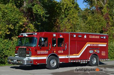 Kearsage Fire Co. (Millcreek Township) Rescue Engine 444: 2009 Spartan/Precision 1500/750/40