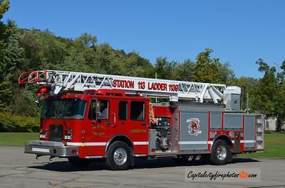 Union City Fire Co. Ladder 1139: 2002 Spartan/Smeal 1250/400 75'