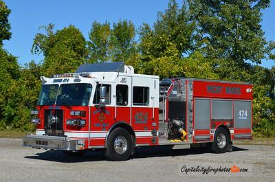 West Ridge Fire Co. (Millcreek Township) Engine 474: 2010 Sutphen 2000/750