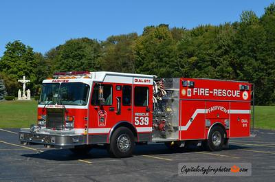 Fairview Fire Co. Rescue 539: 1998 Spartan/4 Guys 1750/500/50