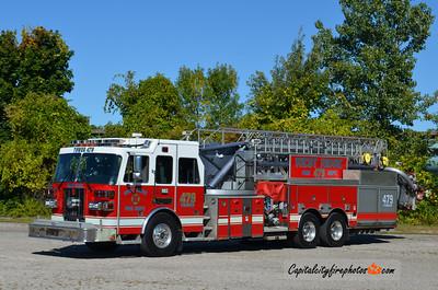 West Ridge Fire Co. (Millcreek Township) Tower 479: 2002 Sutphen 2000/500 100'