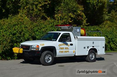 Franklin Township Fire Co. Brush 739: 2006 GMC/Knapheide 350/250