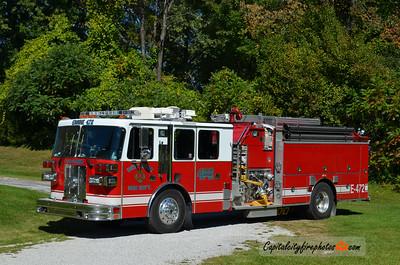 West Ridge Fire Co. (Millcreek Township)  Engine 472: 1993 Sutphen 1500/1000
