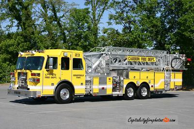 Carbon Fire Co. (Westmoreland Co.) Truck 23: 2010 Sutphen 1500/500 100'
