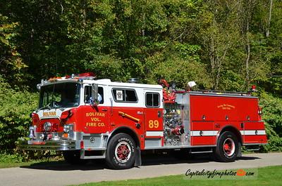 Bolivar (Westmoreland Co.) Engine 89: 1989 Mack Pierce 2000/1000 (X-Dover, DE)