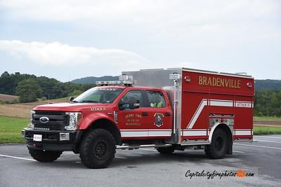 Bradenville (Westmoreland Co.) Attack 71: 2019 Ford/Precision 1250/300/30