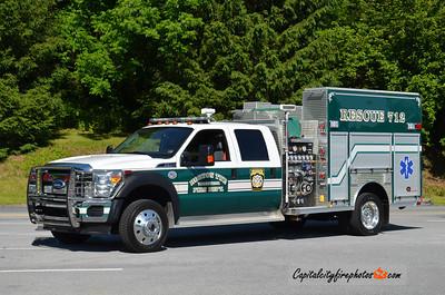 Horton Township (Elk Co.) Rescue 712: 2012 Ford F-550/Rosenbauer 1000/300