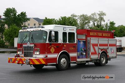 Bruin Fire Rescue (Butler Co.) Engine 29-2: 2010 Spartan MetroStar/Darley 1500/1000/25