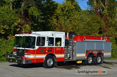 Cornplanter Township Fire Co. (Venango Co.) Engine Tanker 6-96: 2008 HME/Ahrens Fox 1500/2500