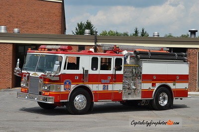 Burgettstown (Washington Co.) Wagon 21: 1989 Pierce 1750/500 (X-Winchester, VA)