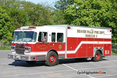 Beaver Falls (Beaver Co.) Rescue 11: 2006 Spartan/Marion