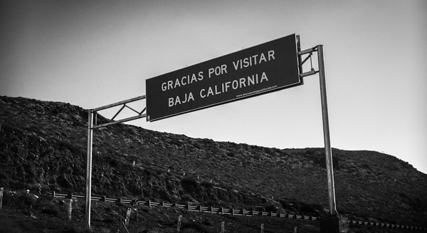 At last, I'm in Mexico and heading down the wonderful Baja peninsula.