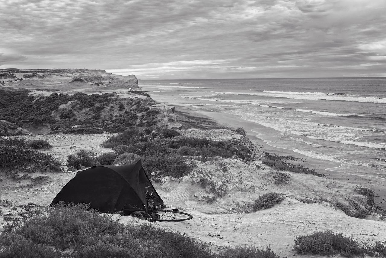 Free camping Baja style.