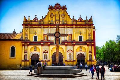 Town square, San Cristobal, Mexico.