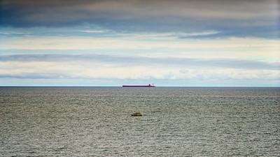 White Rock, Lake Huron.