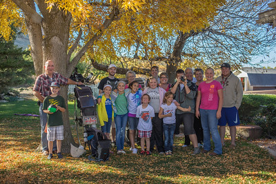 South of Salt Lake city I'm invited in to stay with this lovely family.