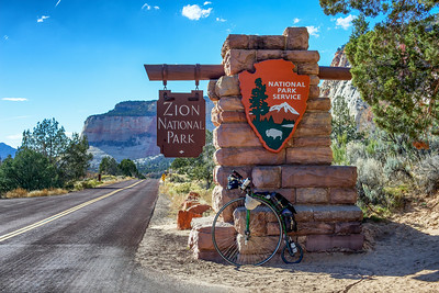 Finally, I make it to Zion NP.