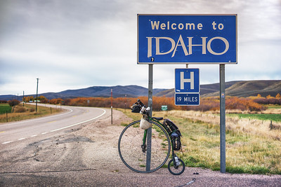 Idaho, for a couple of days.