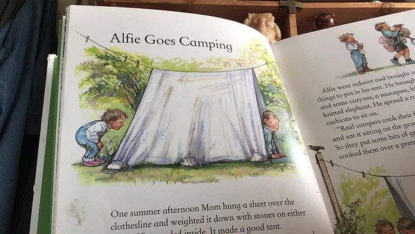 Alfie Goes Camping
