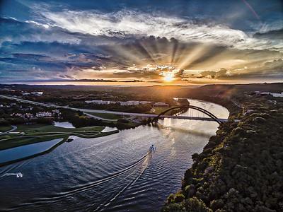 360 Bridge Sun Rays 1