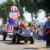 House District 60 Rep. Jim Wilson's float during Saturday's 80th annual Apple Day Parade in Penrose. Lisa Rix/Daily Record