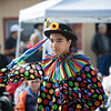 A clown from Saturday's Penrose Apple Day Parade. Lisa Rix/Daily Record