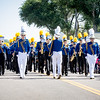 The Florence High School's marching band Saturday during the 80th annual Apple Day Parade in Penrose. Lisa Rix/Daily Record