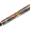 Baron Gold Rollerball Pen shown with Mosaic Explosion in Silver & Gold
