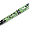 Churchill Chrome Fountain Pen shown with Toadally Wonderful Lava Explosion