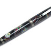 Cigar Two-Tone Black Chrome ballpoint with Crushed Marbles in Black Amalgamutt