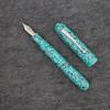 #76 in Turquoise Flake Acrylic