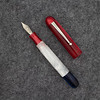 #76 Draw Filler in Pearlized Ruby, White, and Deep Blue
