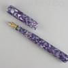 Mina in Purple Dew Flake Acrylic