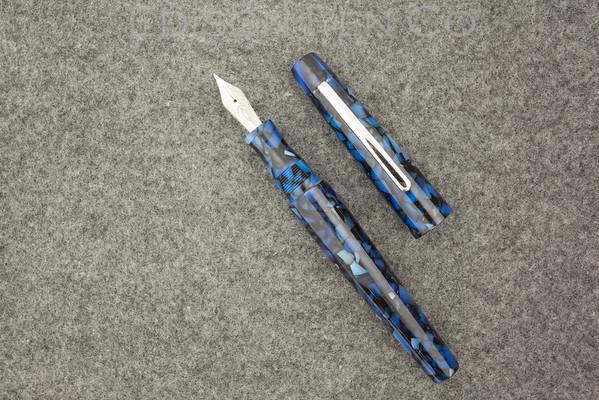 Morgan in Sapphire Flake Acrylic