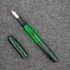 Double Ended Pen in Fern Ebonite
